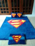 Karpet Karakter Superman set