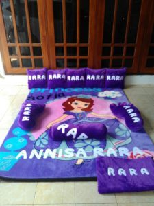 Karpet selimut SOFIA  Full Set