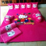 karpet karakter hello kitty fullset