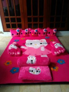 Karpet Hello Kitty Rok