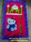 Sajadah Rasfur Karakter Hello Kitty