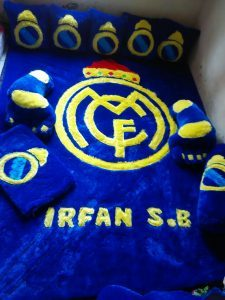 Karpet Karakter Real Madrid