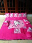 Karpet Karakter Hello Kitty Pink