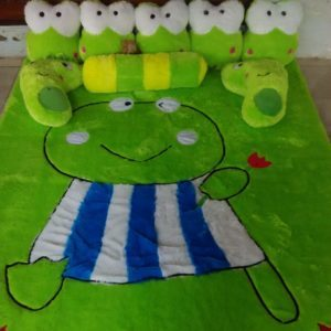 karpet keroppi full set